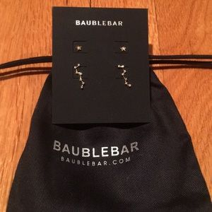 Baubkebar gold 2 pair earrings constellation